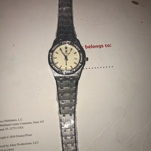 Iced Out Ap Silver Watch Brand New